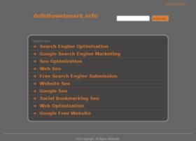 Dofollowebmark.info thumbnail