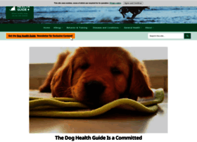Dog-health-guide.org thumbnail