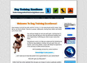 Dog-training-excellence.com thumbnail