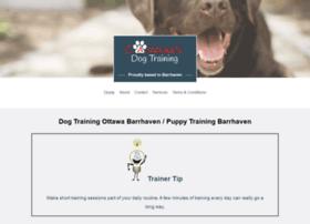 Dogtrainingottawa.ca thumbnail