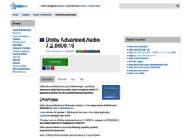 Dolby-advanced-audio.updatestar.com thumbnail