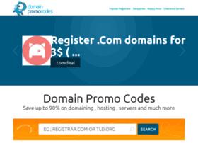 Domainpromocodes.com thumbnail