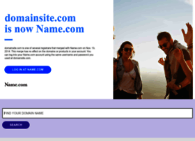 Domainsite.com thumbnail