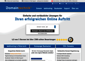 Domaintechnik.at thumbnail