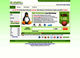 Domainz.in thumbnail