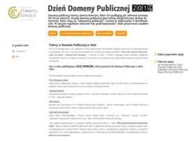 Domenapubliczna.org thumbnail