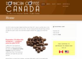 Dominicancoffeecanada.com thumbnail