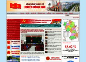 Dongson.gov.vn thumbnail