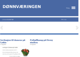Donnvaeringen.no thumbnail
