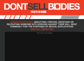 Dontsellbodies.org thumbnail
