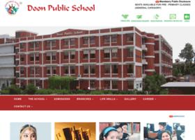 Doonpublicschool.in thumbnail