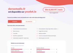 Dorsomedic.fr thumbnail
