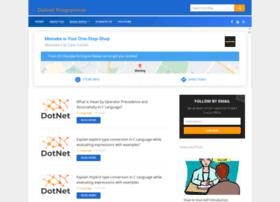Dotnetprogramer.in thumbnail