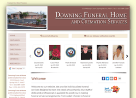 Downingfuneralhomeandcremation.com thumbnail