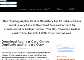 Downloadaadharcard.download thumbnail