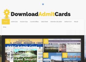 Downloadadmitcards.in thumbnail