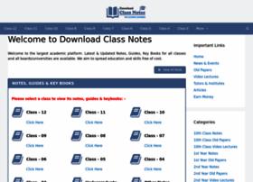Downloadclassnotes.com thumbnail