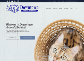 Downtownanimalhospital.ca thumbnail