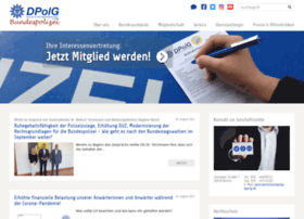Dpolg-bundespolizeigewerkschaft.de thumbnail