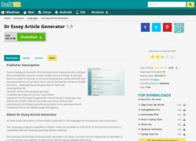 Dr-essay-article-generator.soft112.com thumbnail
