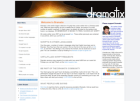 Dramatix.org.nz thumbnail