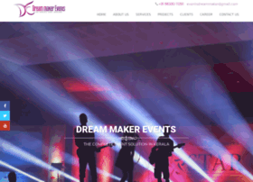 Dreammakerevents.in thumbnail