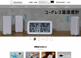 Dretec.co.jp thumbnail