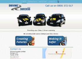 Drivingsuccess.co.nz thumbnail