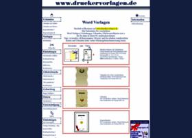 Druckervorlagen.de thumbnail