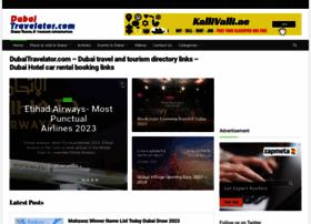 Dubaitravelator.com thumbnail