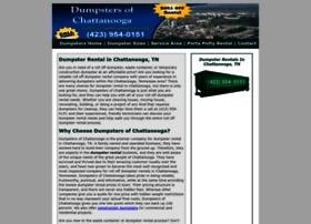 Dumpsterrentalchattanooga.net thumbnail
