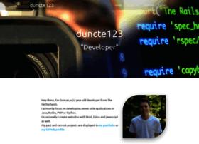 Duncte123.me thumbnail