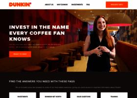 Dunkinfranchising.com thumbnail