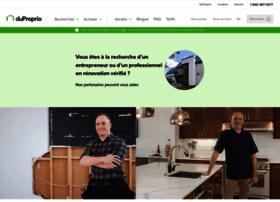 Duproprio.biz thumbnail