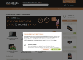 Duracelldirect.co.uk thumbnail