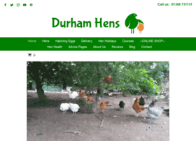 Durhamhens.co.uk thumbnail