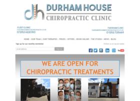 Durhamhousechiropractic.co.uk thumbnail