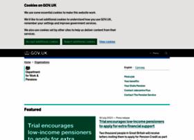 Dwp.gov.uk thumbnail