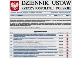 Dziennikustaw.gov.pl thumbnail