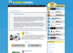 E-cigarettesreviews.com thumbnail