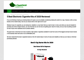 E-cigaretteuk.org.uk thumbnail