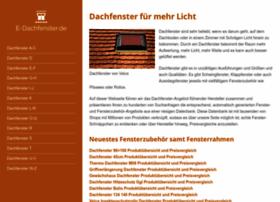 E-dachfenster.de thumbnail