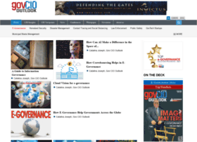 E-governance.govciooutlook.com thumbnail