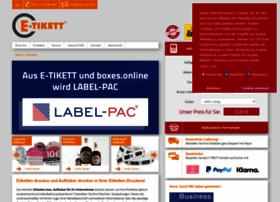 E-tikett.de thumbnail