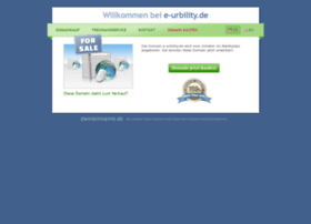 E-urbility.de thumbnail