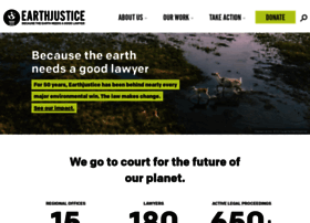 Earthjustice.org thumbnail