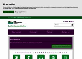 East-northamptonshire.gov.uk thumbnail