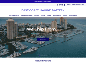Eastcoastmarinebattery.com thumbnail