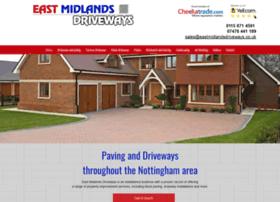 Eastmidlandsdriveways.co.uk thumbnail