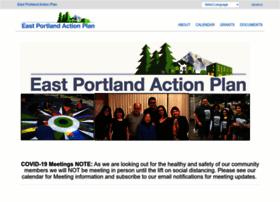 Eastportlandactionplan.org thumbnail
